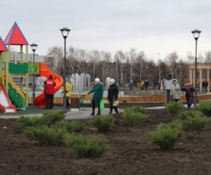 Накануне зимы в Тольятти открылся Итальянский сквер