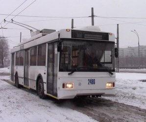 По Тольятти снова поехал соединяющий три района троллейбус