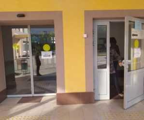 В детской поликлинике тольяттинского медгородка заблокировали автоматические входные двери