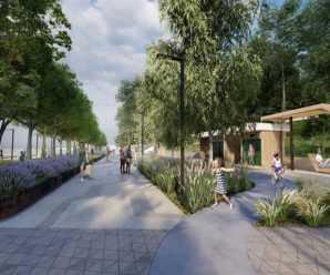 Обновленную набережную Автозаводского района пообещали открыть для посетителей к осени 2022 года