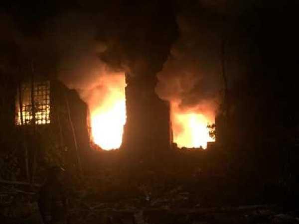 Пожар на «Волгоцеммаше»: Махлай переходит к тактике выжженой земли?