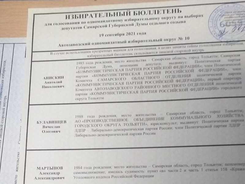 """""""Единая Россия"""" сохранила контроль за Самарской губернской думой"""