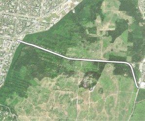 Тольяттинская лесная дорога: вариант № 3