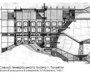 Новый город Тольятти спланировали задолго до АВТОВАЗа