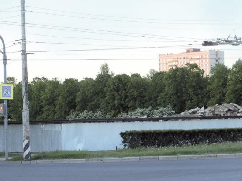 Бетонный лом в парке Победы спрячут из стыда перед швейцарцами
