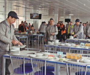 Рабочим прессового производства АВТОВАЗа вновь рассказали об улучшении условий труда через ремонт столовых и гардеробов