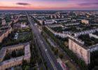 Вечерний Тольятти с высоты