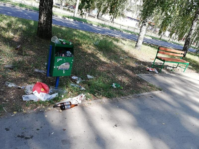 Проблема урн продолжает беспокоить тольяттинцев