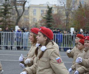 Во всех школах Самарской области к концу 2019 года замаршируют отряды юнармии
