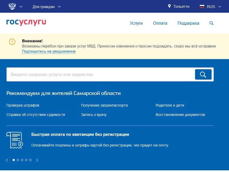 Правительство Самарской области заявило о 80% охвате населения электронными государственными и муниципальными услугами