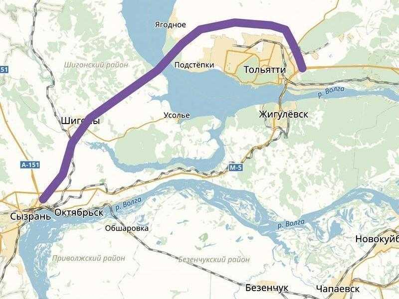 Самарская область снимает средства со строительства Климовского моста и дороги Тольятти-Ягодное