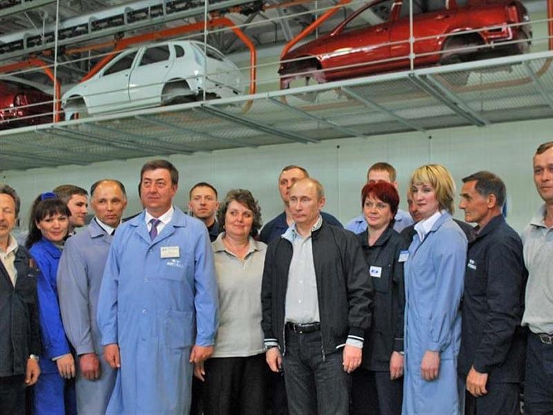 Комсомольский район Тольятти любит Путина сильнее всех