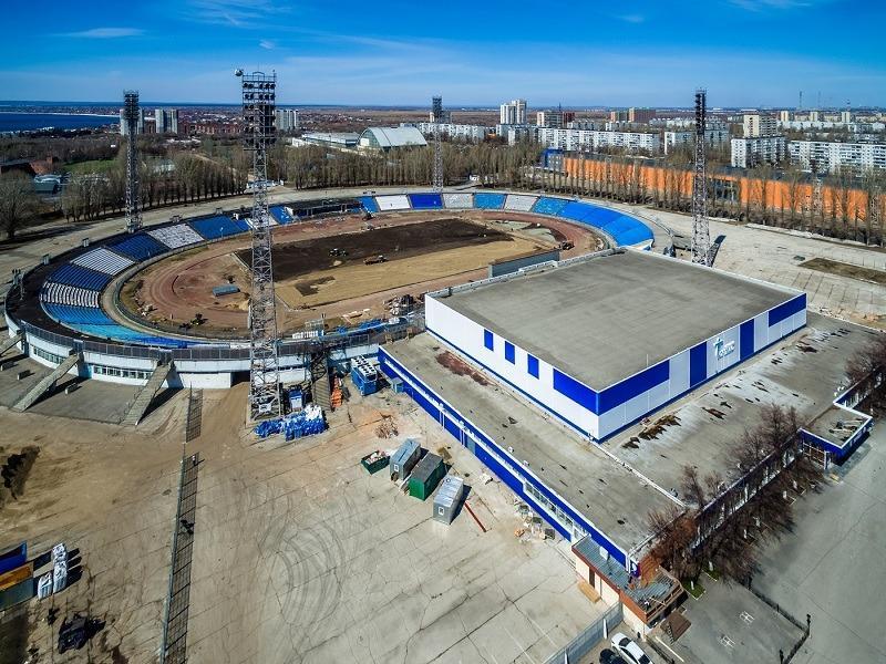 """На стадионе """"Торпедо"""" демонтировали старый газон: Тольятти с высоты (ФОТО)"""