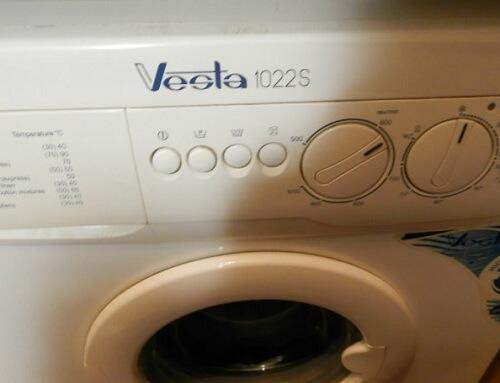 Vesta: стиральная машина и автомобиль