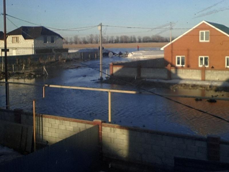 Села в окрестностях Тольятти затопило (ФОТО)