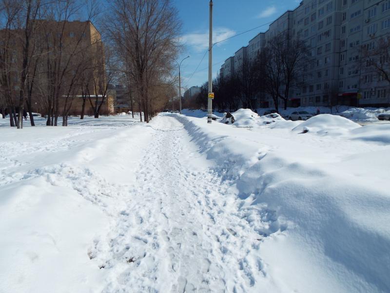 Конец зимы в Тольятти в середине весны-2018 (ФОТО)