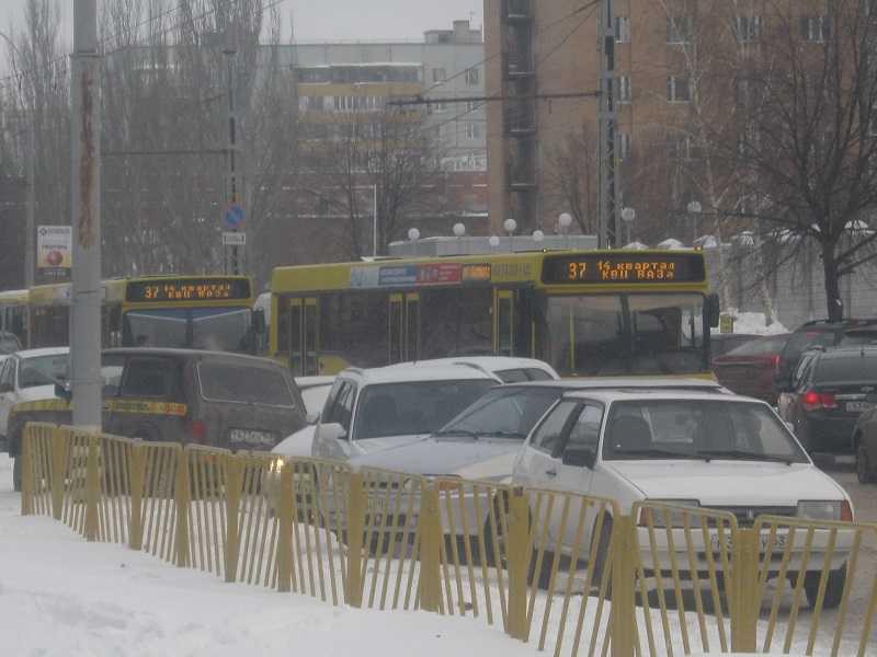 Пассажиропоток муниципального транспора в Тольятти