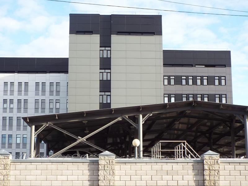 Здание 21-го отделения МВД Тольятти: цвет мог быть и лучше
