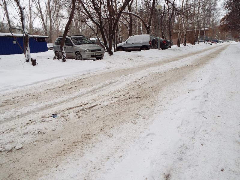 Пресс-секретарь Анташева расхвалила уборку дорог в Тольятти и послала жалобщиков на заснеженные дворы в УК