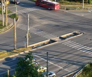 В Тольятти решили обезопасить пешеходов на перекрестке Дзержинского и Степана Разина