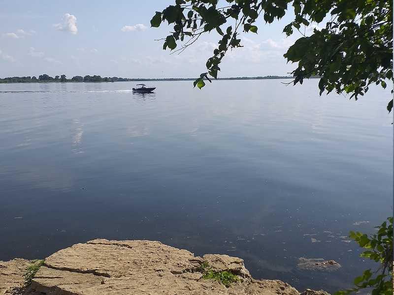 Волга в окрестностях Тольятти может пожелтеть из-за теплой зимы