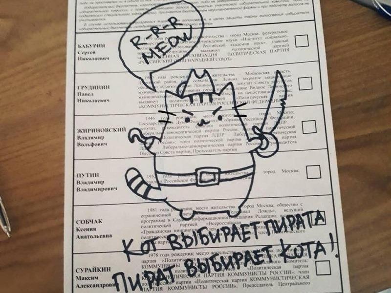 Жители Самарской области испортили 0,88% избирательных бюллетеней