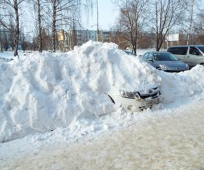 Зимовка автомобилей в 10-м квартале: брошены или нет?